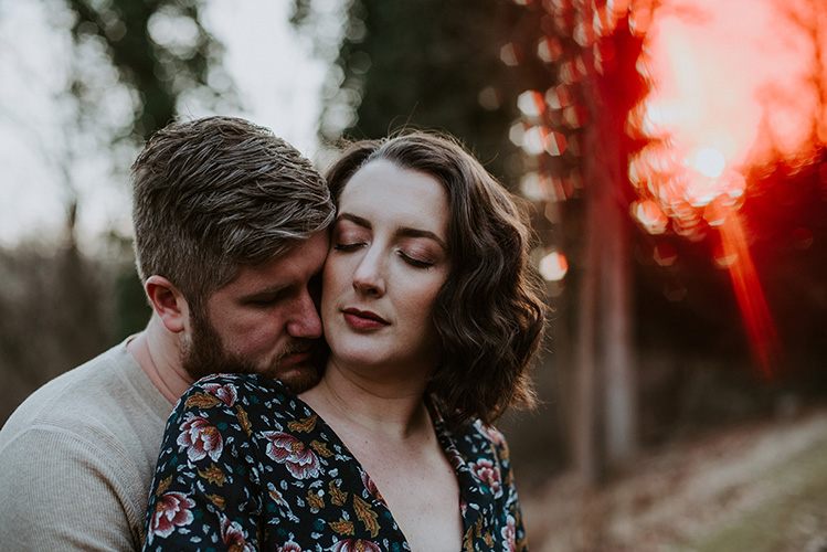 Chester County Engagement Photography at Ridley Creek State Park