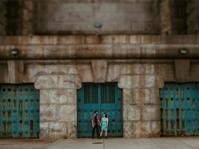 Philadelphia Race Street Pier Engagement Photographer
