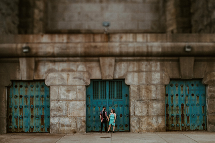 Philadelphia Race Street Pier Engagement Photographer