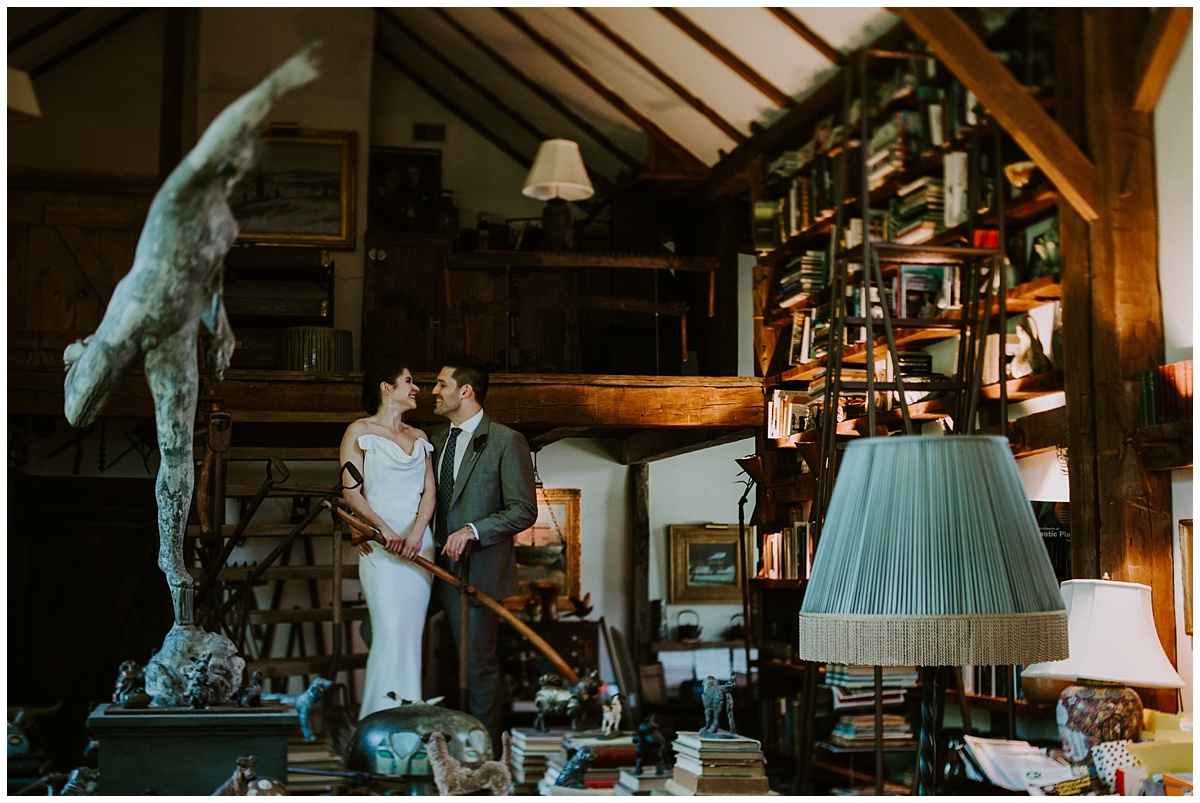 New Hope Hortulus Farm Garden Wedding Photographer