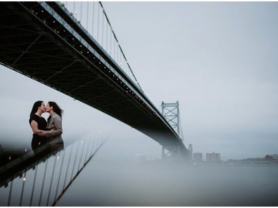 Race Street Pier Engagement Wedding Photographer