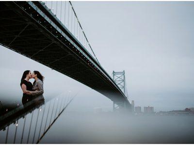 Race Street Pier Engagement Wedding Photographer